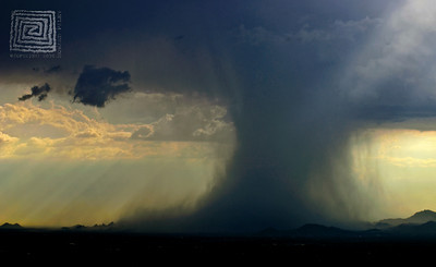 """Torrent"", Monsoon Storm, Tucson, Az., 08/15/10"
