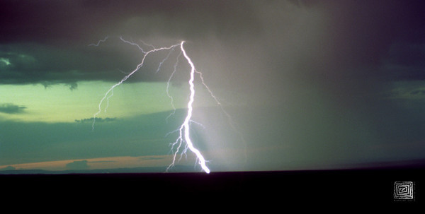 """Electrifying"", Mesa Verde, Colorado, Aug. 2004"