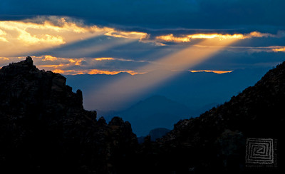 """Beacon of Light"", Manzanita Point, Mt. Lemmon, Arizona"