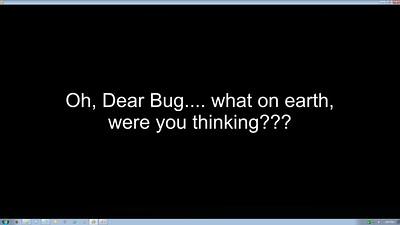 Dead Bug Lament 1920