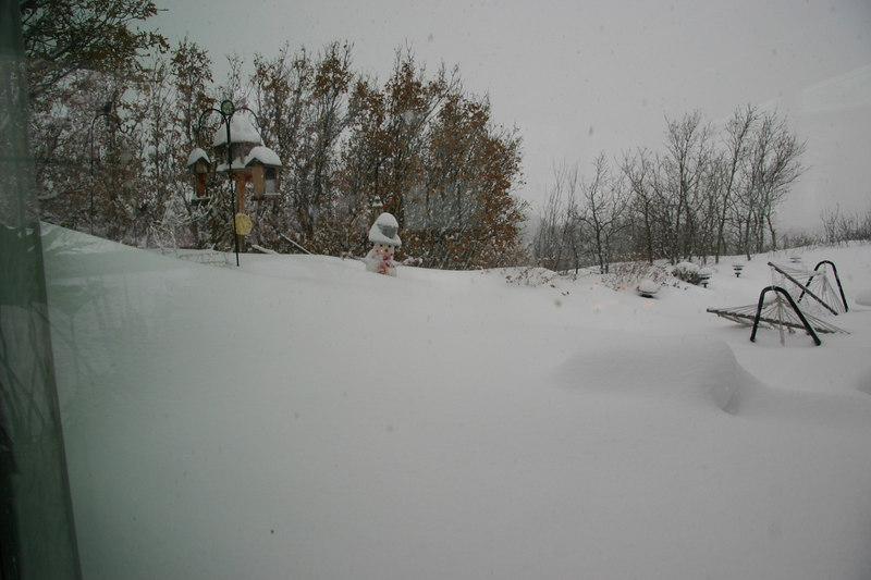 Dec 2006 XMAS Blizzard, Castle Rock