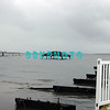 AFTER THE STORM - Tuesday 10/30/2012  The wind and rain are gone . . . and so is the Somers Point Fishing Pier.