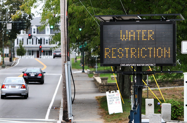 Drought watering restrictions Chelmford 092816