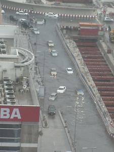 Flooding outside BurJuman.