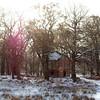 Dunham Park Slaughterhouse in the snow
