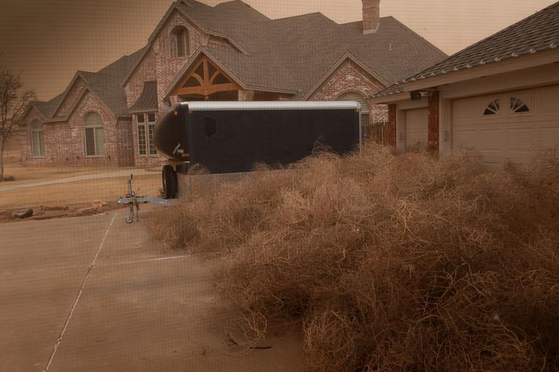 Dust Storm & Wind, 12-19-2012