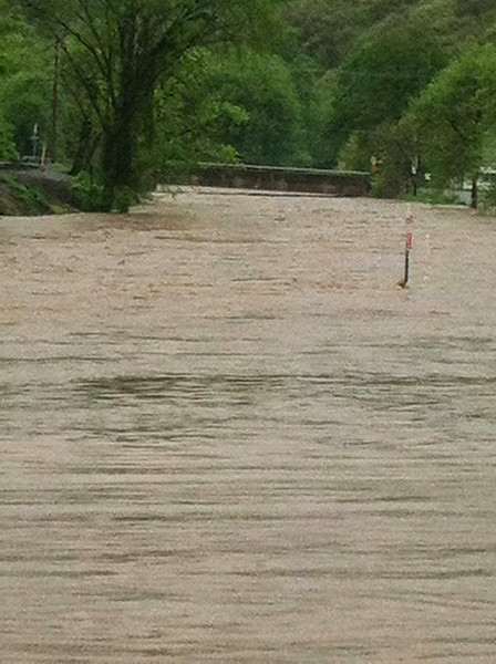 Elk County flood May 2014