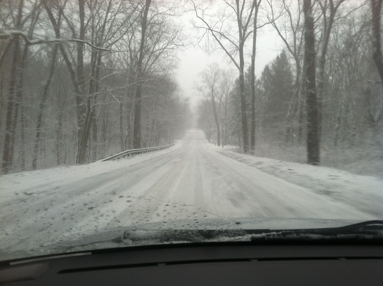 Friday afternoon, driving home on Rte 97
