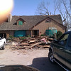 2nd day the debris is piling up