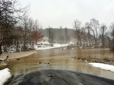Supinlick rd in Shenandoah county 2/3/16