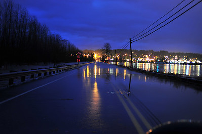Flooding in Duvall Washington