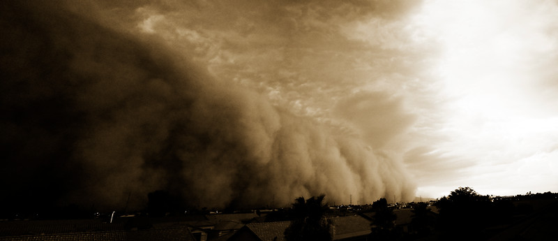 Haboob over South Mountain - June 5th 2011