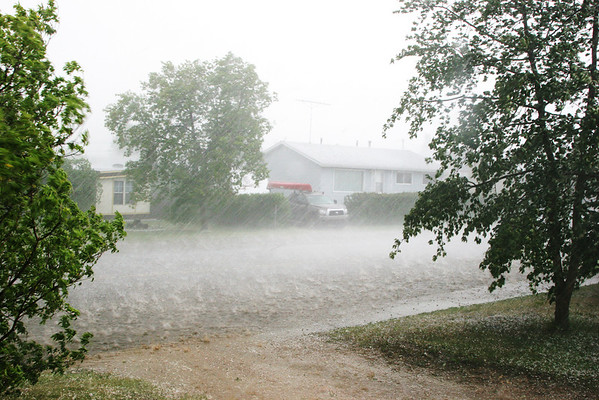 Hail Storm July 4, 2009