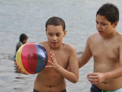 Hot weather Freeman Lake 052816