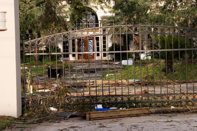 September 14:  Bay-front property in Kemah.