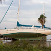 September 14:  50' Sailboat washed ashore on Clear Lake, near the Hilton Hotel on NASA Parkway.