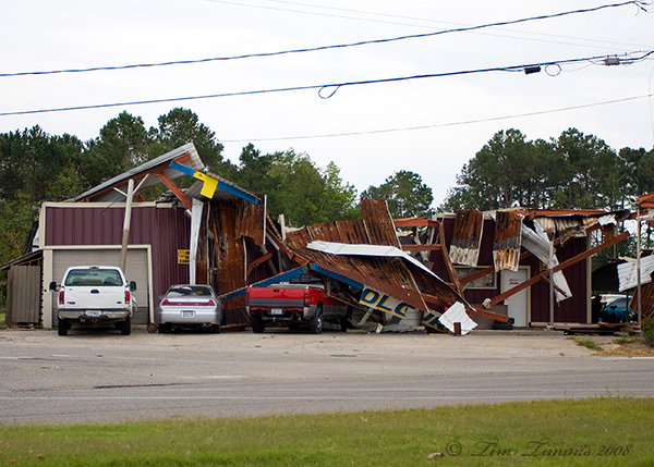 Damage in Baytown
