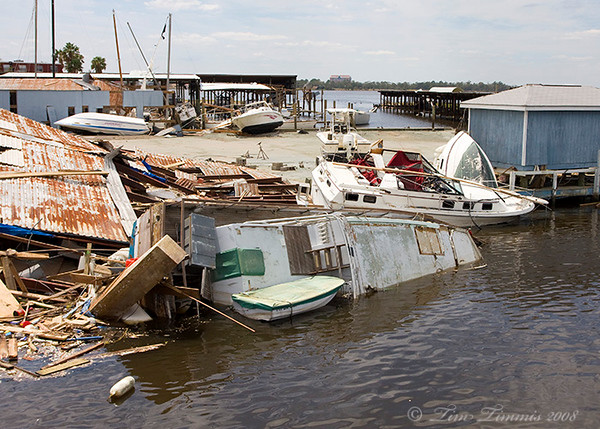 Damage at Clear Lake