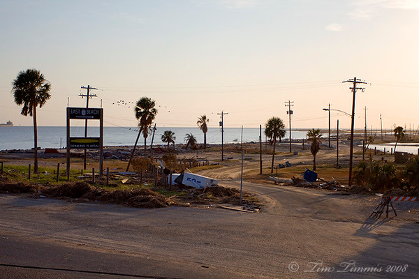 East end of Galveston Island