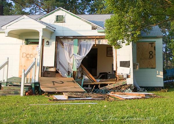 Damage in Seabrook
