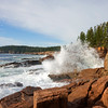 Thunder Hole Landscape. Acadia National Park, Maine.