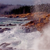 Angry Surf. Acadia National Park, Maine.
