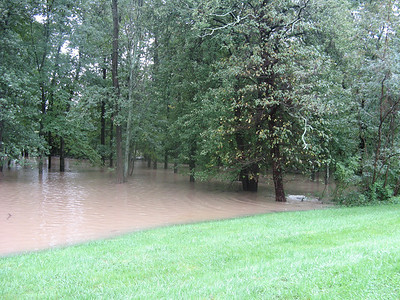 The flood about a hundred yards further west.  9-7-11
