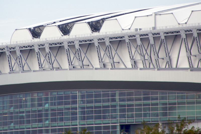 Reliant Stadium - Holes in the Roof