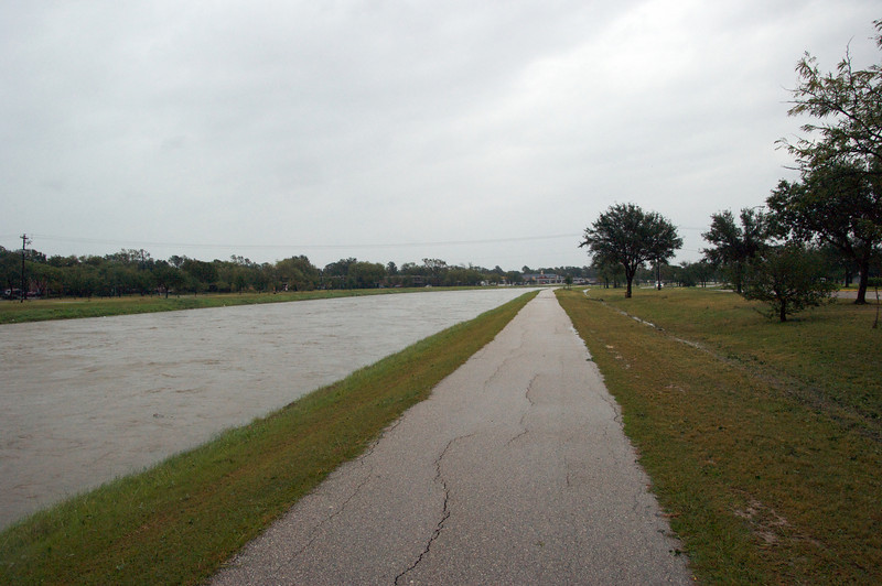 Brays Bayou on Saturday morning