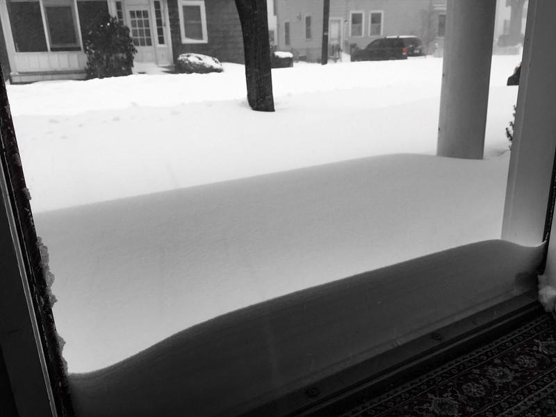 Storm #1 (Blizzard Juno).  January 27, 2015