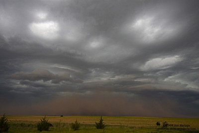 Tornado warned storm near Flagler, CO (7:25)