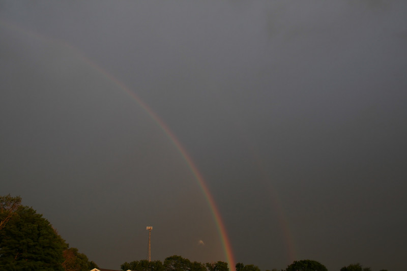 Rainbow - taken from Eagle Dr. in Colonial Manor (in Goshen near Bashor and Greene)