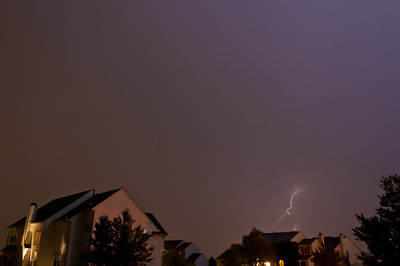 Lightning Over Royersford - August 2010