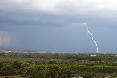 Lightning Storm, Verde Valley, 7/29/2012