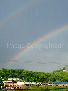 Rainbow in Morgantown WV 6/10/12