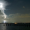 It was amazing watching this lightning storm across the St John's River in Jacksonville, Florida.  Photos by John Shippee Photography.
