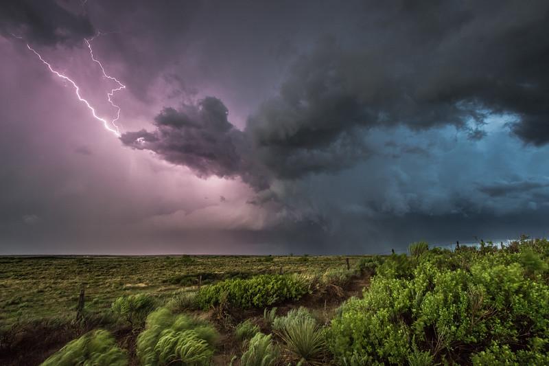 Spectrum of a Panhandle Storm