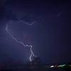Lightning over Niagara Falls, Ontario