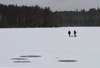 Littleton ice fishing lake feature 122916