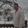 "It was actually a 12"" snow on my back deck by the time it stopped."