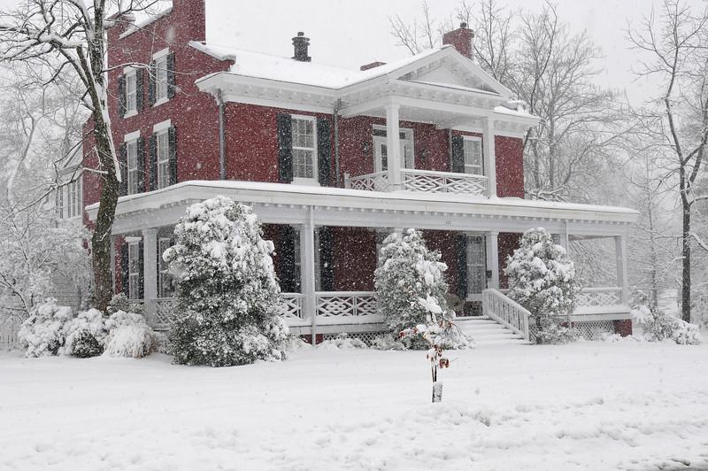 Mudds Grove historic house.  Kirkwood MO.