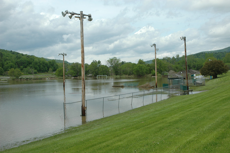 Montpelier recreation field - no softball or soccer today.
