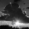 22  G That Cloud and Sun Sharp BW