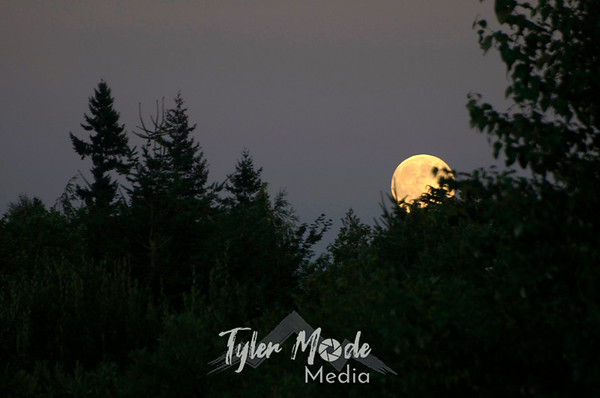 Moonrise, August 24th, 2010