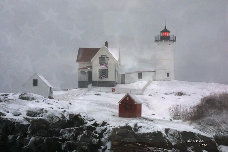 #003 Nubble Lite, Maine