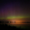 Aurora Borealis in central Wisconsin, July, 2012.