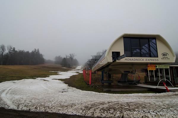 No snow for Mount Wachusett