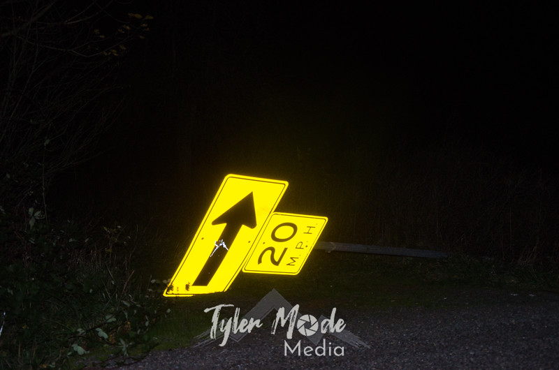2  Downed Sign