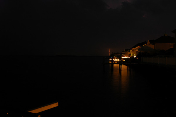 Ocean City, MD Lightning Storm - August 2007