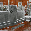 Dare County Veteran's Memorial next to the old county courthouse in Manteo.